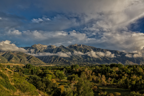 Across the Valley to the Wasatch
