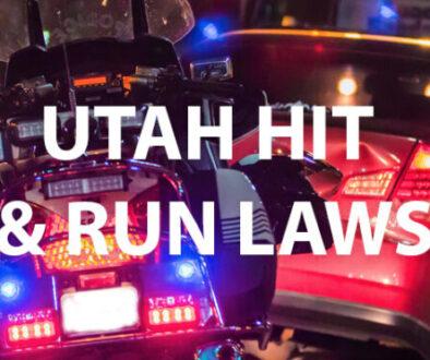 Utah Hit and Run Laws